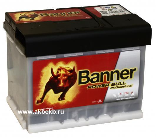 Аккумулятор Banner (Баннер) Power Bull P63 40 PROfessional