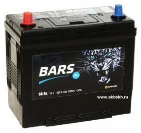 Аккумулятор BARS 6СТ-50.1 VL (B24FR)