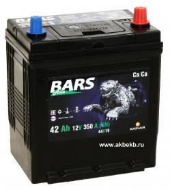 Аккумулятор BARS 6СТ-42.0 VL (B19FL)